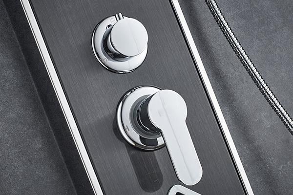 ROVATE Thermostatic Shower Panel , Body Spray Shower Panel 1500*220mm Size