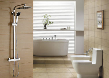 China Solid Brass Thermostatic Rain Shower System ROVATE For Bathroom And Hotel supplier