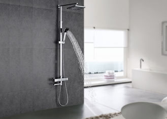 China ROVATE Bathroom Shower Set Polished Surface And Stable Temperature Performance supplier
