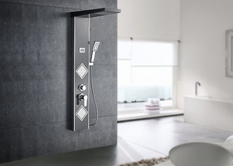 China ROVATE Thermostatic Shower Panel , Body Spray Shower Panel 1500*220mm Size supplier