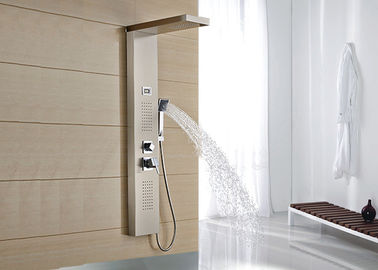 China Modern Design Shower Jet Panel , Waterproof Shower Panels Wall Mounted ROVATE supplier